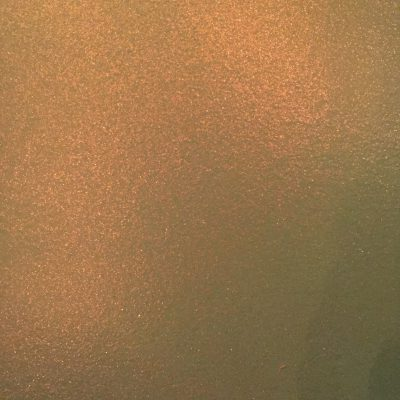Semi-gloss paint with golden color