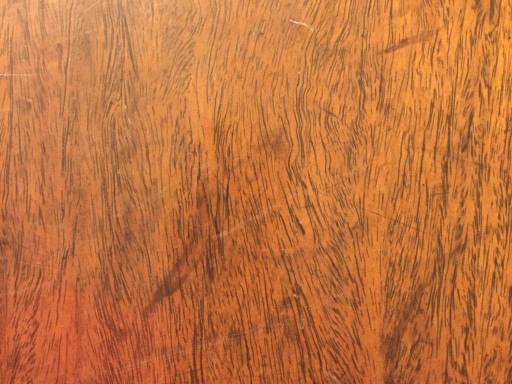 Bright wood table top