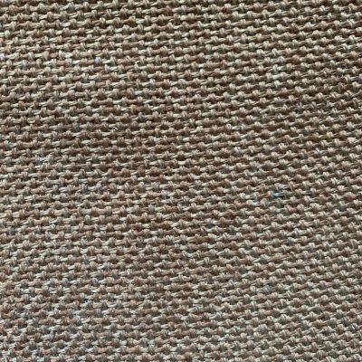 Brown and white tweed