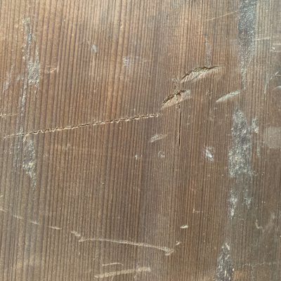 Close up of distress wood