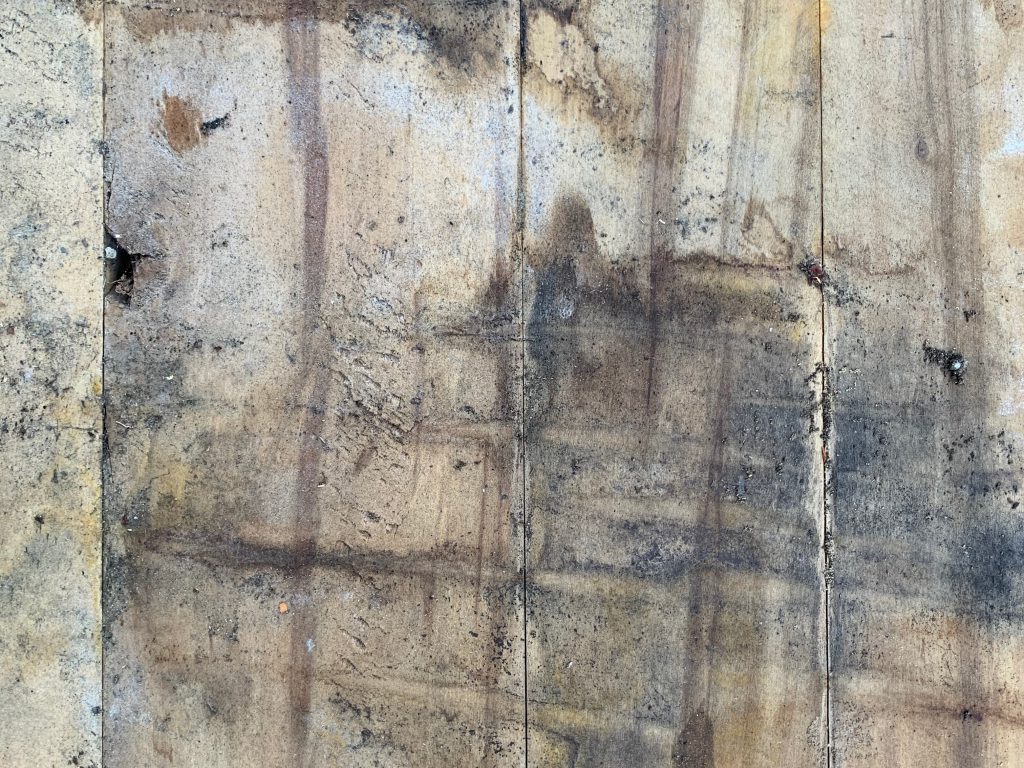Dirty and weathered wood planks