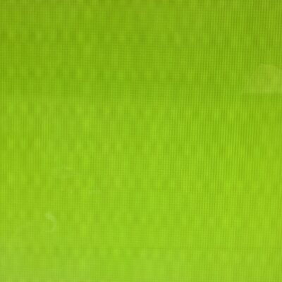 Lime green LED pixel grid
