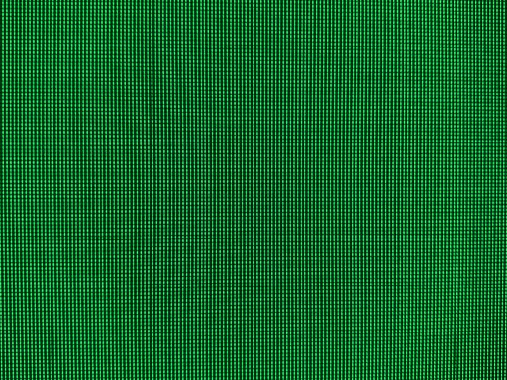High contrast green and black LED pixel grid