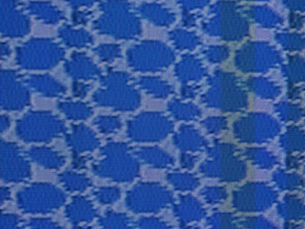 Retro Nintendo bitmap tile of blue water