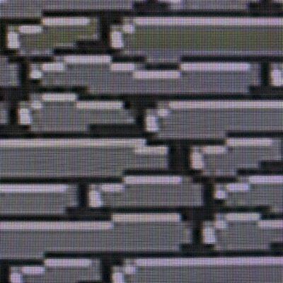 Gray stones from 16 bit NES video game