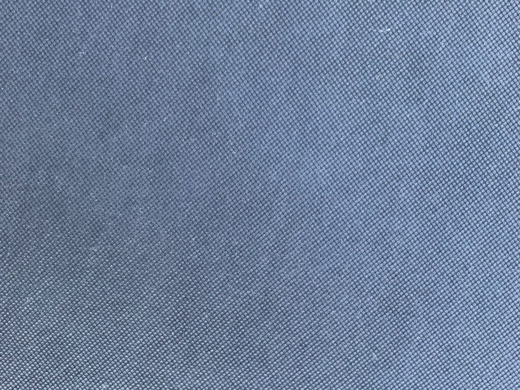 Silver/gray liner fabric with diagonal pattern