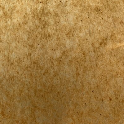 Brown translucent paper with visible fibers