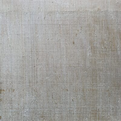 Light white paint over textured cheap brown wood