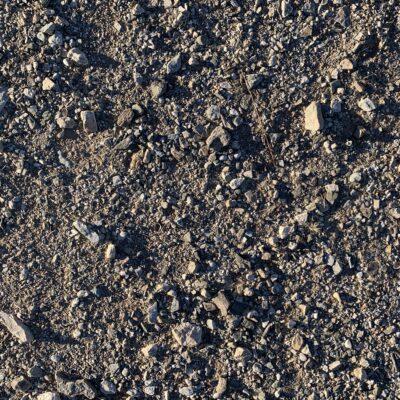 Bright gravely bit of ground